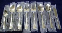 Pfaltzgraff Pearl Flatware Lot 8 Serving Hostess Pieces Stai