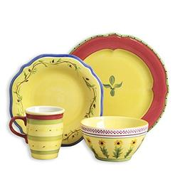 Pfaltzgraff Pistoulet Red Dinnerware Set