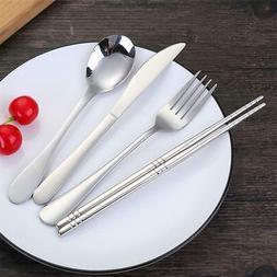 Portable Dinnerware Set High Quality Chopsticks Fork Spoon K