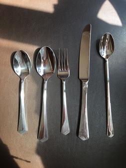 Yamazaki Ramona Stainless Steel Dinner Flatware by Gerald Pa