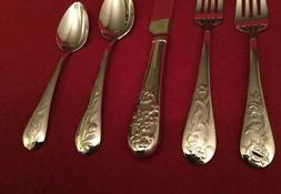 * REED & BARTON - FRENCH FLORAL - Stainless Flatware - YOU C