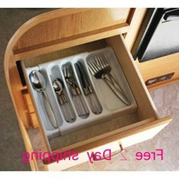 RV Camper Utensil Cutlery Flatware Tray Drawer Silverware Or