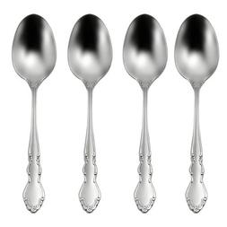 Oneida Satin Dover Dinner Spoons, Set of 4