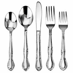 Service for 12 - 5 Flatware Multi Set 18/10 Stainless Steel