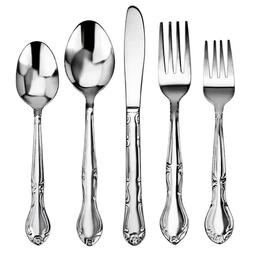 Service for 12 - 5 Flatware Multi Set 18/0 Stainless Steel S
