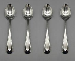 SET OF FOUR - Oneida 18/8 Stainless Flatware SATIN SAND DUNE