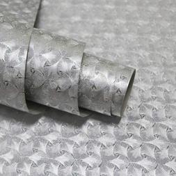 Silver Glitter Self Adhesive Sparkle Contact Paper for Decor