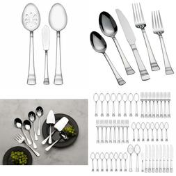 Silver Kensington 51-Piece QUALITY Stainless Steel Flatware