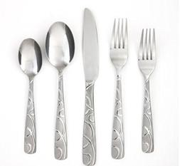 Cambridge Silversmiths Conquest Sand 30-Piece Flatware Set