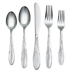 Cambridge Silversmiths Gabriella 51-Piece Flatware Set