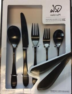 Cambridge® Silversmiths Meridian Satin 20-Piece Flatware Se