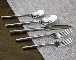 Silverware Set Flatware Cutlery Service for 8  - Ghata Hexag