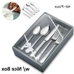 Silverware Set Flatware Cutlery Sets for 8 Stainless Steel K