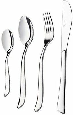 20 Piece Silverware Set Service for 5 Flatware 18/10 Stainle