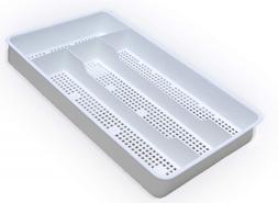 Silverware Utensil Drawer Tray Storage Flatware Holder Kitch
