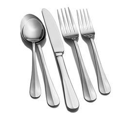 International Silver Simplicity 101 Piece Flatware Set
