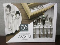 Mikasa® Sinclair 65-pc. Flatware Set with Caddy