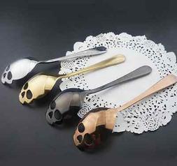 Skull Sugar Spoon Stainless Steel Tea Coffee Cutlery Gift  U