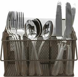 sorbus utensil caddy silverware napkin holder