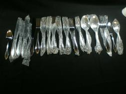 Pfaltzgraff Stainless Flatware AMERICAN BEAD 18 Pieces NEW i