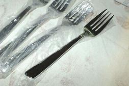 MIKASA stainless flatware DELANO DINNER SALAD FORK   NEW