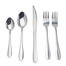 Saim Stainless Steel Flatware Set Cutlery Silverware Set Tab