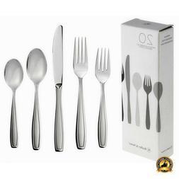 Stainless Steel Flatware Set Service For 4 Kitchen 20 Piece