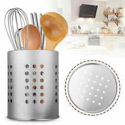Stainless Steel Kitchen Chopsticks Fork Drain Utensil Storag