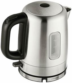 AmazonBasics Stainless Steel Portable Electric Hot Water Ket