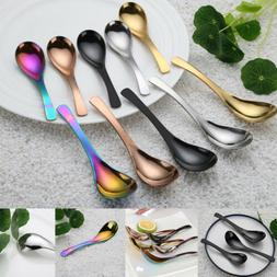Stainless Steel Soup Spoon Kitchen Flatware Tableware Chines