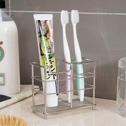 Stainless Steel Toothbrush Holder Toothpaste Razor Stand Rac