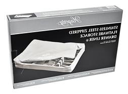 Hagerty Stainless Steel Zippered Drawer Liner