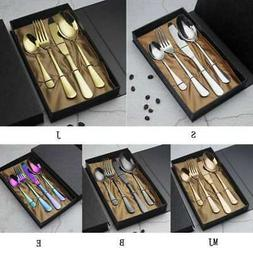 Stainless Western-style Food Flatware Set-Fork, Table-Knife,