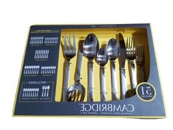 Cambridge Tessa Sand 51pc Flatware