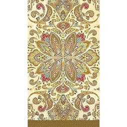 "Textured Paisley Guest Paper Towels | 16 Ct. | 8"" x 4"""
