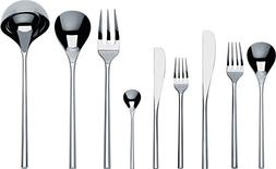 "Alessi TI04S75""MU"" Flatware Set Of Twelve Table Spoons, Tabl"