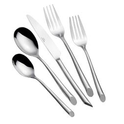 Towle Living 5005925 Wave 42-Piece Stainless Steel Flatware