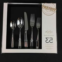 Lenox Tuscany 53 Piece Flatware Set Service For 8 Stainless