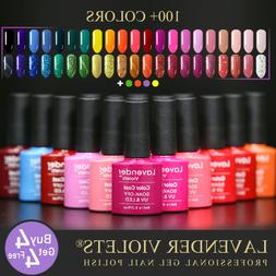 uv led soak off nail gel polish