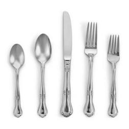 Gorham Flatware - Valcourt - 5 Piece Flatware Place Settings
