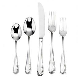 Oneida Vinca 90-Piece Flatware Set, Service for 12