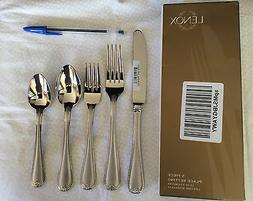 Lenox Vintage Jewel Frosted 5-Piece Stainless Flatware Place