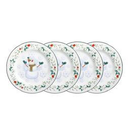 Pfaltzgraff Winterberry Snowman Salad Plate