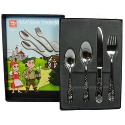 ZWILLING Grimms 4 pc Stainless Steel Children's Flatware S