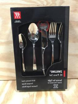 Zwilling J.A. Henckels Bellasera 18/10 Stainless 45pc. Flatw