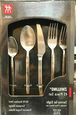 ZWILLING Opus Satin 45-pc 22770-645 18/10 Stainless Steel Fl
